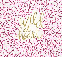 Wild at Heart – Pink & Gold by Cat Coquillette