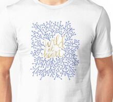 Wild at Heart – Navy & Gold Unisex T-Shirt