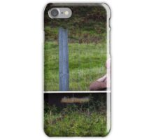 Tramp in a bath iPhone Case/Skin