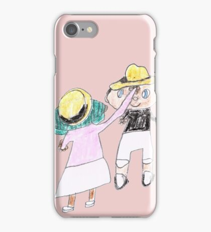 Your hat is crooked!! let me fix that. :D - ABC '14 iPhone Case/Skin
