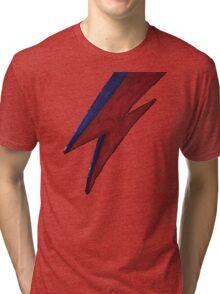 RIP BOWIE BOLT Tri-blend T-Shirt