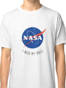 I Need My Space Colour Classic T-Shirt
