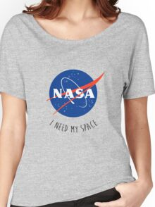 I Need My Space Colour Women's Relaxed Fit T-Shirt