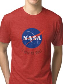 I Need My Space Colour Tri-blend T-Shirt