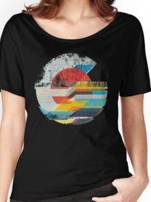 Digital Sun Horizon  Women's Relaxed Fit T-Shirt