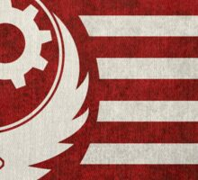 Fallout - The Flag of the Brotherhood of Steel Sticker