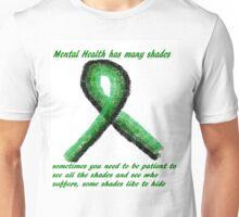 Shades of Mental Health Unisex T-Shirt