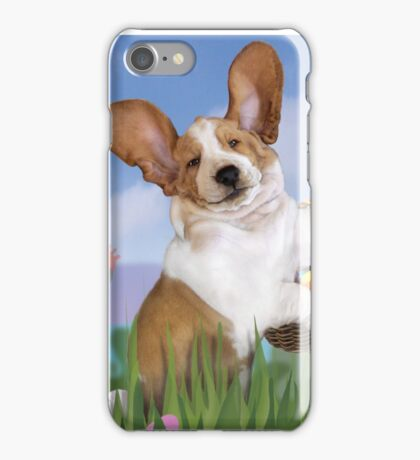 The Easter Basset iPhone Case/Skin