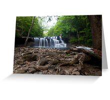 Brush Creek Falls Greeting Card