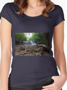 Brush Creek Falls Women's Fitted Scoop T-Shirt