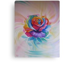 Chakra Rose Canvas Print
