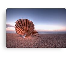 Scallop Sculpture Canvas Print