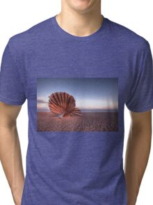 Scallop Sculpture Tri-blend T-Shirt