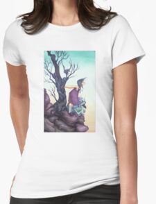 Something in the Wind Womens Fitted T-Shirt