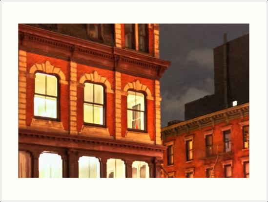 Film Noir Style New York City by Mark Tisdale