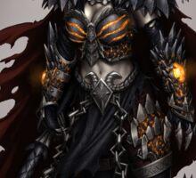 Death Dragon Lady Sticker