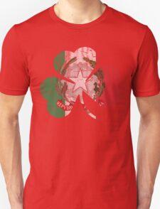 Irish Italian Heritage Shamrock T-Shirt