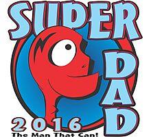 SUPER DAD Photographic Print