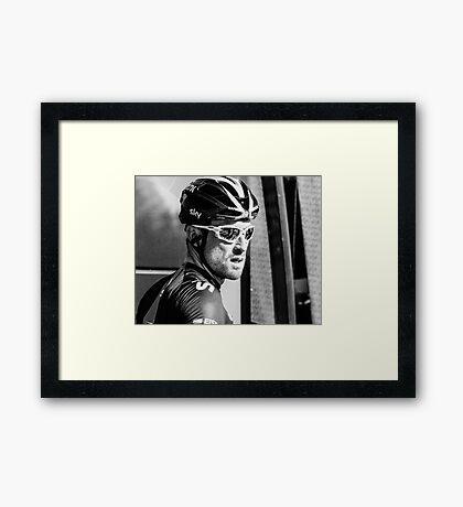 Bernhard Eisel (Team Sky) Framed Print