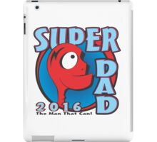 SUPER DAD iPad Case/Skin