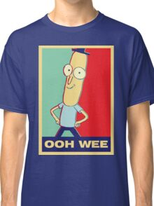 "Rick and Morty: Mr.PoopyButthole ""ooh wee"" Classic T-Shirt"