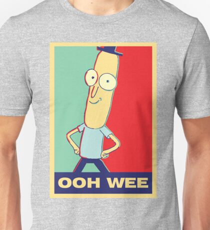 "Rick and Morty: Mr.PoopyButthole ""ooh wee"" Unisex T-Shirt"