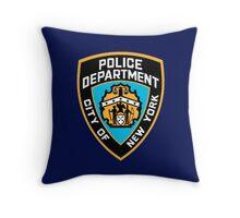 NYPD Throw Pillow