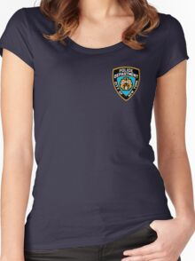 NYPD Women's Fitted Scoop T-Shirt