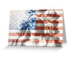 Native Americans in the United States Greeting Card