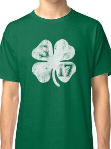 St Patricks Day 3/17 Shamrock Vintage Fade Classic T-Shirt