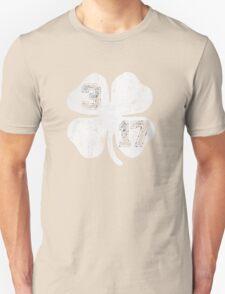St Patricks Day 3/17 Shamrock Vintage Fade T-Shirt
