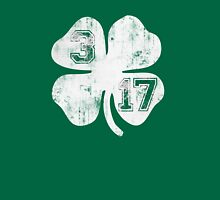 St Patricks Day 3/17 Shamrock Vintage Fade Womens Fitted T-Shirt