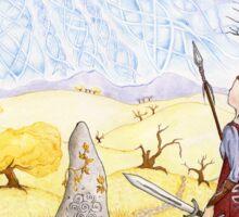 Hawk of Achill Sticker