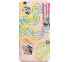 Dissected Garden in Pink iPhone Case/Skin