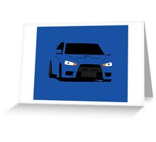 Simple Evo Greeting Card
