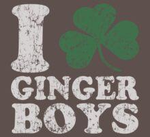 I Shamrock Ginger Boys Baby Tee