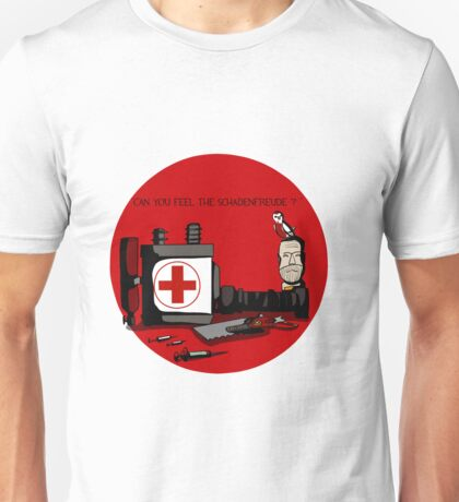 TF2 RED MEDIC gear QUOTE Unisex T-Shirt
