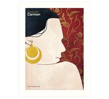 Georges Bizet - Carmen Art Print