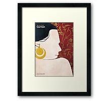 Georges Bizet - Carmen Framed Print