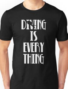 Diving is Everything (White) Unisex T-Shirt