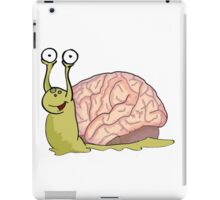 Snail Brains! iPad Case/Skin