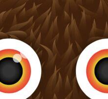 Furry Monster Sticker