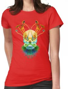 Psychedelic Shaman Womens Fitted T-Shirt
