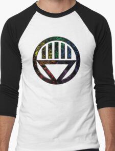 Lantern 8 - DC Spray Paint Men's Baseball ¾ T-Shirt