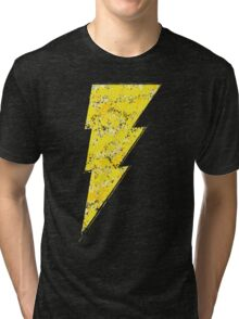 Black Adam - DC Spray Paint Tri-blend T-Shirt