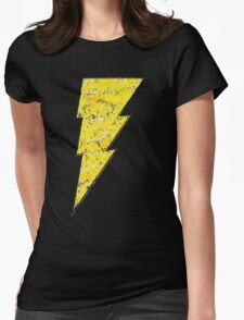 Black Adam - DC Spray Paint Womens Fitted T-Shirt