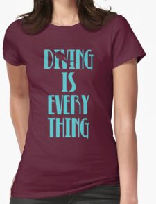 Diving is Everything (Blue) T-Shirt