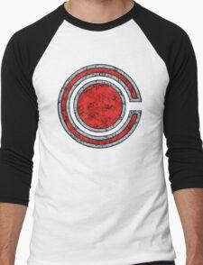 Cyborg - DC Spray Paint Men's Baseball ¾ T-Shirt