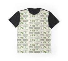 Bullet Bill Dollar Bill (Mario Parody) Graphic T-Shirt