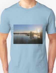 Beautiful Lake At Grey Lodge Unisex T-Shirt
